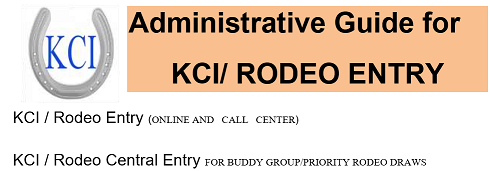 KCI RODEO CENTRAL ENTRY